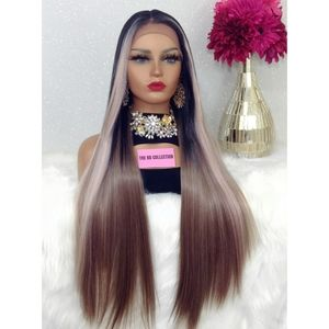 🆕SWISS LACE FRONT WIG MIDDLE PART WIG